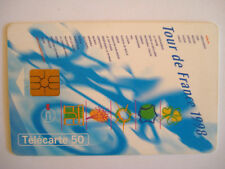 PHONECARD TELECARTE SPORT CYCLISME TOUR DE FRANCE 1998