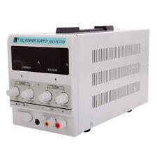 Stabilizer DC Power Supply 30V 5A 110V|Adjustable Lab Grade Precision|w/US Cord