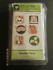 NEW Cricut Lite Cartridge******SLUMBER PARTY****HTF****FREE SHIPPING**WORLDWIDE