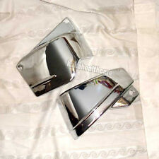DEFECT - Chrome Metal Battery Side Covers Yamaha Vstar Classic XVS 400 650
