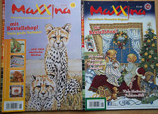 Maxxina  Stickzeitschrift   2 Hefte = 1 Preis       Portofrei