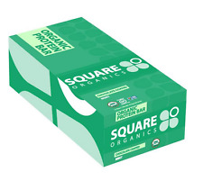 NEW SQUARE PROTEIN BAR CHOCOLATE COATED MINT GLUTEN FREE WHOLE GRAIN HEALTHY
