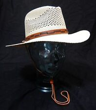 Stetson Outback Vented Mens Straw Panama Hat Size Medium