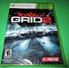 GRID 2 Microsoft Xbox 360 *Factory Sealed! *Free Shipping!