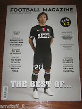 FOOTBALL MAGAZINE 2013/1=ANDREA PIRLO=LEO MESSI=PEP GUARDIOLA=PANENKA=HOPE SOLO=