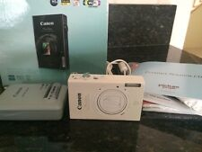 White Canon PowerShot ELPH 530 10.1 MP Camera with Copy of Receipt