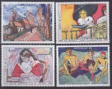 Monaco 1980 75th Anniv of 1905 Art Exhibition Set UM Yvert1456-9 Cat 24.50Euros