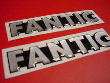 Fantic Trials 1980's Tank Badges 300 Pro model 304 403 & More Vintage Trials