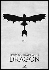 "035 How to Train Your Dragon 2 - 2014 Hot Movie Film 14""x20"" Poster"
