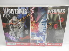 Wolverines Marvel Comic Books X3 NEW SERIES FOR 2015!!