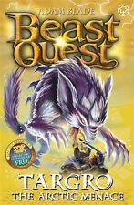 Beast Quest: 74: Targro the Arctic Menace, Blade, Adam, Good Condition, Book