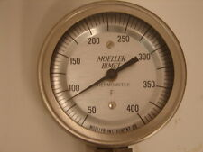 MOELLER BIMET 4750 WEATHER PROOF FUME PROOF BIMETAL THERMOMETER  ***XLNT***