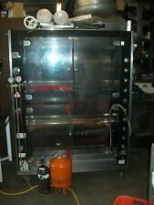 CHICKEN ROTESSERI, MADE IN FRANCE, ROTISOL-1350-8,GAS UNT, 900 ITEMS ON E BAY