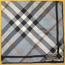 BURBERRY *Spiral Checks Scarf Handkerchief 53cm /SAWABE*11
