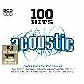 Various - 100 Hits Acoustic (2014)  5CD Box Set  NEW/SEALED  SPEEDYPOST