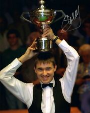 Signed Stephen Hendry Snooker Autograph Photo + Proof World Champion
