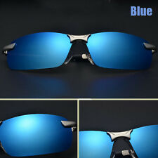 New Men Polarized Driving Sunglasses Outdoor Sports Mirrored Glasses  UV400 PA5