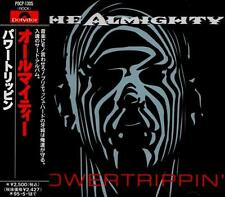 THE ALMIGHTY Powertrippin' FIRST JAPAN CD OBI POCP-1305 Ricky Warwick