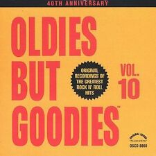 Oldies But Goodies, Vol. 10 by Various Artists (CD1990, Art Laboe Originals) NEW