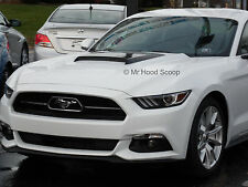 2015 2016 Ford Mustang Hood Scoop Ram Air Style By MrHoodScoop UN PAINTED HS009