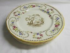 """ROYAL DOULTON  THE BEAUFORT SET OF SIX 10 1/2"""" DINNER PLATES.................BB2"""