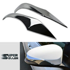CAMRY PRIUS C TOYOTA YARIS COROLLA AURIS OUTSIDE DOOR MIRROR COVER CHROME