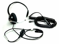 Plantronics Adjustable Headset Model AL8MEX-20161-KX-N Telephone Telescoping Mic