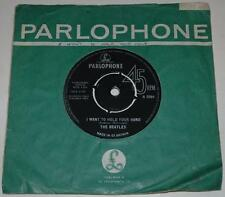THE BEATLES, I WANT TO HOLD YOUR HAND, 1963, PARLOPHONE R 5084, 1st ISSUE, EX