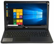 Dell 15.6 Intel Quad Core 2.4GHz 4GB 500GB DVDRW Win10 WiFi i5552-4392BLK LN