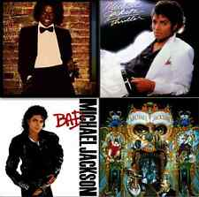 MICHAEL JACKSON 4x LP *AUDIOPHILE* VINYL Lot OFF THE WALL THRILLER BAD DANGEROUS