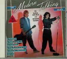 "MODERN TALKING ""THE MODERN TALKING STORY"" BOHLEN ANDERS CD JAPAN 1988 ITALO"