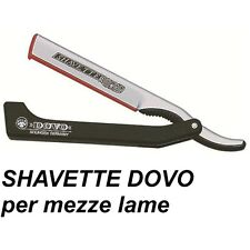 DOVO SHAVETTE Rasoio a Mano Libera in Resina Made in Germany Solingen da Barba