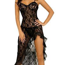 Verkaufsfaehige Tantalising Uniform Verlockend Kleid Schwarz DE