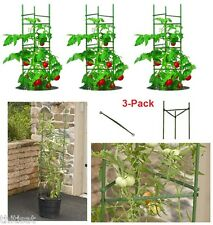 Tomato Plant Support Cage Growing Climbing Fruit Vegetable Stakes Rack 3 Pack
