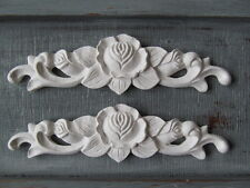 Due Shabby Chic Vintage Rose DECORATIVO ARREDO OPACO SWAG MODANATURE.