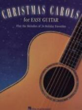 Christmas Carols for Easy Guitar Guitar Book