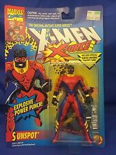 X-Force Sunspot X-Men Animated Series Era Action Figure MOC ToyBiz