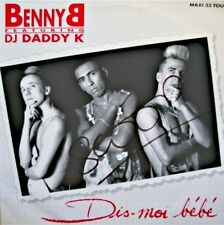 ++BENNY B & DJ DADDY K dis-moi bébé (4 versions) MAXI 1991 ON THE BEAT VG++