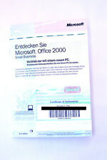 "Microsoft Office 2000 Small Business ""Entdecken Sie..."" + Product Key #4"