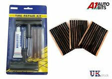 CAR VAN TYRE TIRE PUNCTURE REPAIR KIT WITH 33 STRIPS NEW High Quality