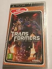 BRAND NEW SONY PSP PORTABLE PLAYSTATION GAME TRANSFORMERS REVENGE OF THE FALLEN