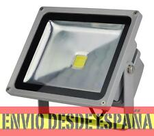 Foco Proyector LED  50W 6500K Luz brillante PF 0,95, Potencia 100% Real