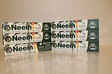 Neem essential halal tooth paste 6pcs