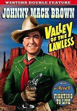 Western Double Feature: Valley Of The Lawless (1936) / Fighting To Live (1934),