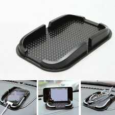 Black Silicone Mobile Phone Mat Anti-slip Mats Cars Accessories Car Part General
