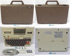 Retrocomputer Vintage PC Portatile Laptop Notebook con Valigia EPSON HX20 HX-20