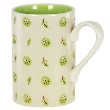 """Japanese 5""""H Porcelain Sushi Tea Cup Mug Lucky Fortune Green Owl, Made in Japan"""