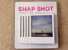 SNAP SHOT 5 MAGNETIC PHOTO FRAMES by Fifty Two Ways & Diana Paisis