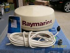 """RAYMARINE PATHFINDER RD2D 18"""" 24NM RADOME W 10M INTERCONNECT CABLE AND MANUAL."""