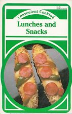 LUNCHES AND SNACKS VINTAGE CONVENIENT COOKING COOKBOOK ULTIMATE NACHOS, CHILI